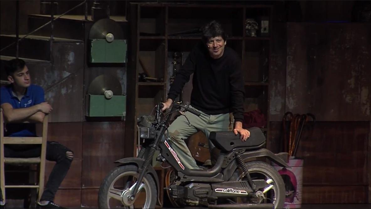 Michele La Ginestra al Teatro Sistina con una commedia musicale