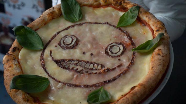 NieR Replicant: a Milano arriva la pizza dedicata a Emil, solo nei ristoranti di Cocciuto