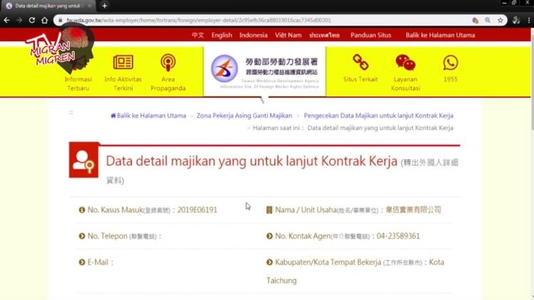 Cara Mencari Informasi Job dan Memeriksa Status Pergantian Majikan Melalui Website MOL