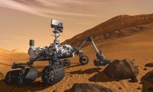 Simulation du robot curiosity sur Mars