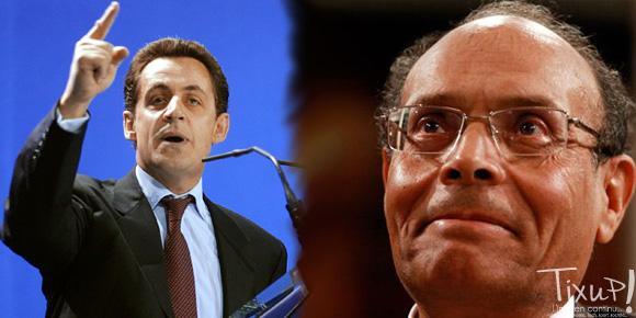 Nicolas Sarkozy - Moncef Marzouki