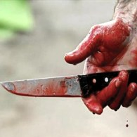 Arme: Couteau sang