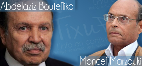 Abdelaziz Bouteflika - Moncef Marzouki