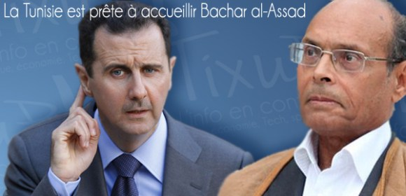 Moncef Marzouki - Bchar al-Assad
