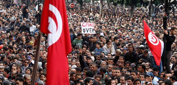 Révolution - Tunisie - 14 janvier 2011