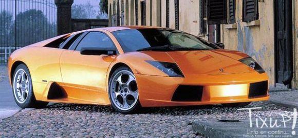 Lamborghini modèle Tixup