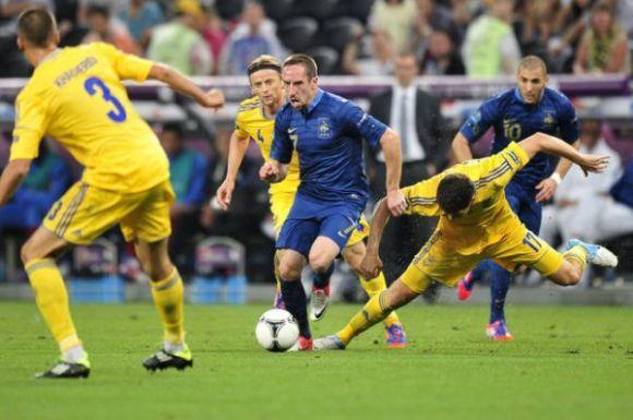 Euro 2012: France - Ukraine