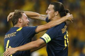 Suède: Zlatan Ibrahimovic