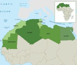 Map Grand Maghreb