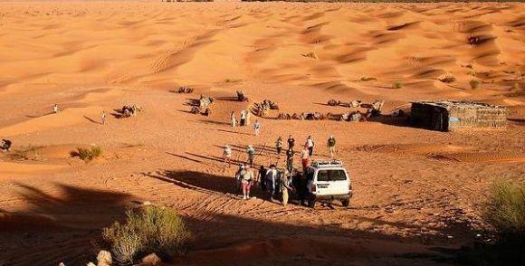 Sahara - désert - Tunisie