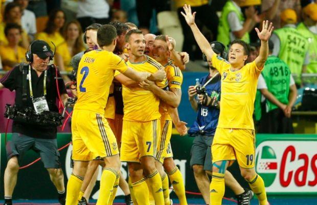 Euro 2012: Ukraine - Suède