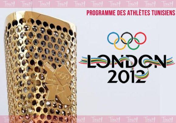 Programme - Jeux Olympiques 2012