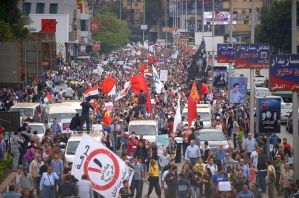 Manifestation Egypte