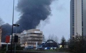 Hélicoptère s'écrase en plein centre de Londres