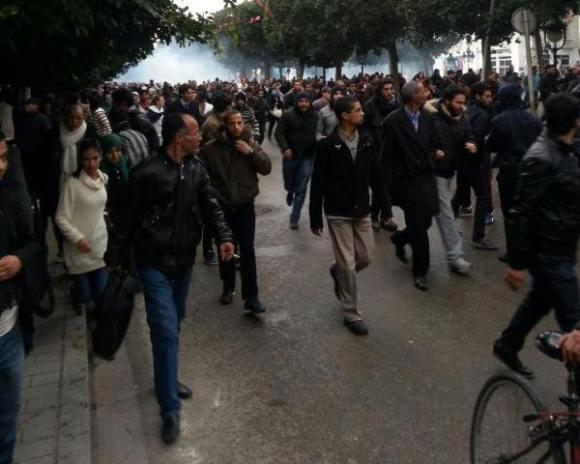 Avenue Habib Bourguiba - 6 février 2013