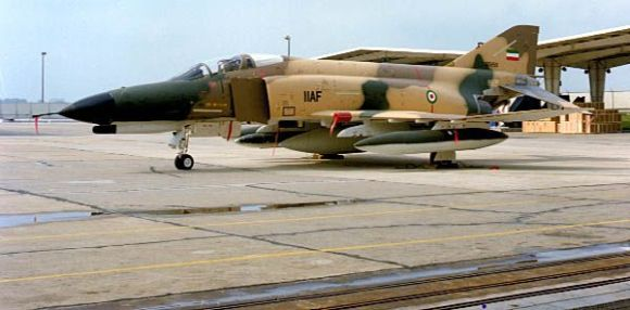 Avion de chasse iranien F-4 Phantom
