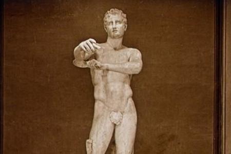 Statue rapatrié en Grèce en raison de nudité