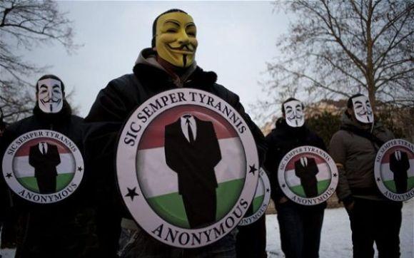 Début d'une cyber-guerre entre Anonymous et les pirates israéliens