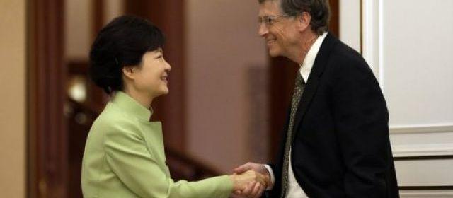 Park Geun-Hye - Bill Gates