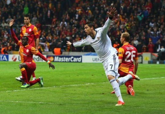 Cristiano Ronaldo - Galatasaray Vs Real Madrid