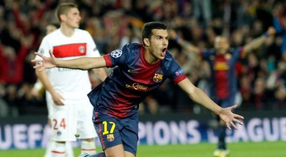 Pedro Rodriguez - FC Barcelone (FCB) - Paris Saint-Germain (PSG)