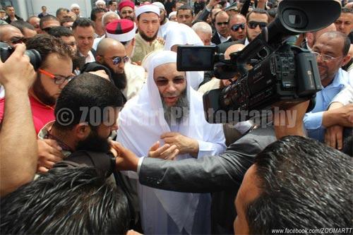 Arrivée du prédicateur égyptien Mohamed Hassen