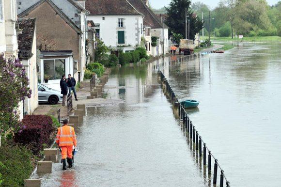Inondations à Dijon