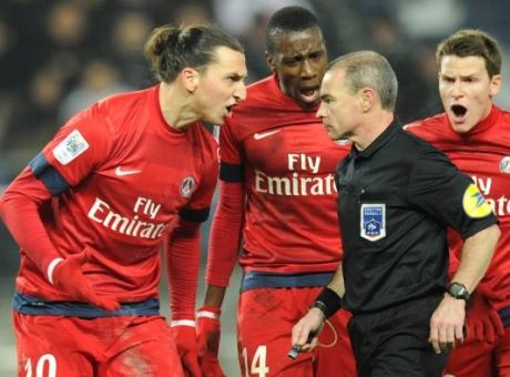 Ligue 1 - PSG : Zlatan critique l'arbitrage