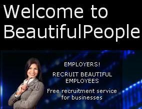 Des offres d'emploi, pour des gens beaux, uniquement...