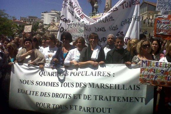 Marseille : une manifestation contre la violence