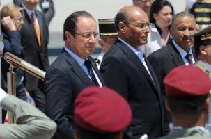 François Hollande - Moncef Marzouki