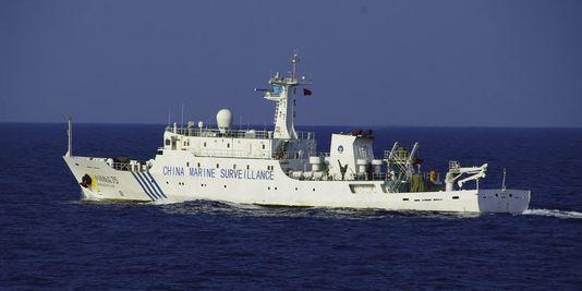 Photo des garde-côtes japonais montrant un navire de surveillance chinois dans les eaux territoriales des îles Senkaku, le 27 juin 2013 - Photo de - - Garde-côtes japonais/AFP/Archives © 2013 AFPafp logo