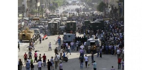 Trente-six détenus islamistes morts dimanche dans une tentative d'évasion, a annoncé l'agence de presse d'Etat Mena (c) Afp