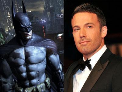 Ben Affleck qui sera le prochain Batman.