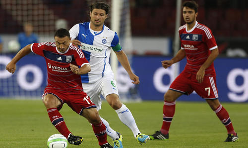 Les Lyonnais joueront les barrages de la Ligue des Champions - AFP