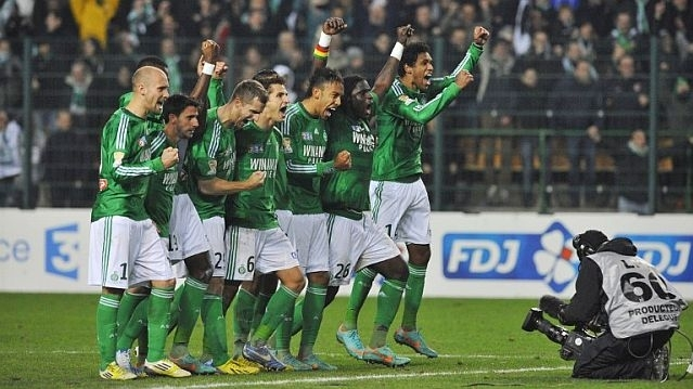 Match St Etienne Esbjerg