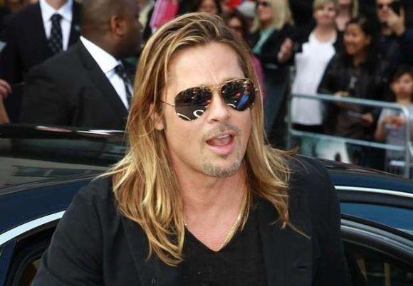 Ancienne coupe de cheveux de Brad Pitt