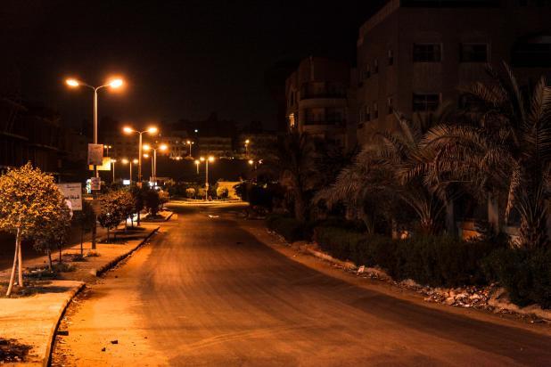 Couvre feu en Egypte