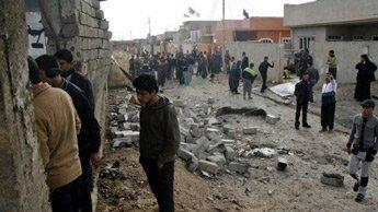 Le kamikaze s'est fait exploser dans la ville de Baashiqah tuant 26 personnes et en blessant 46.