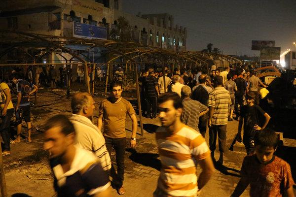 Au moins 72 personnes ont été tuées et plus de 120 blessés à Baghdad