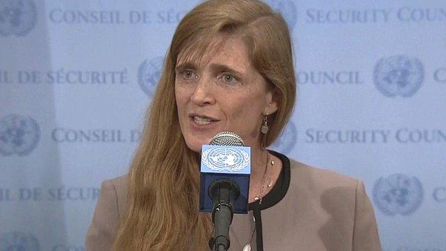 Émissaire américain à l'ONU, Samantha Power: