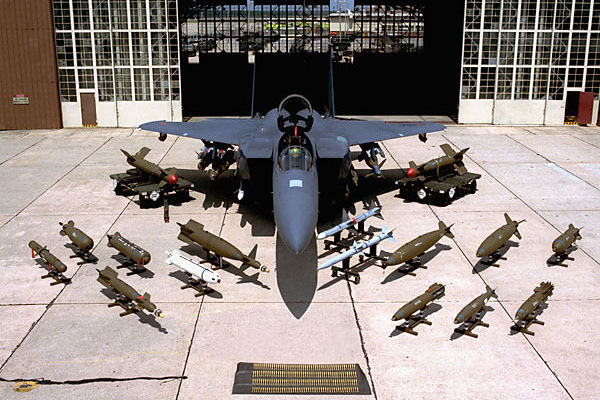 F 15 Eagles