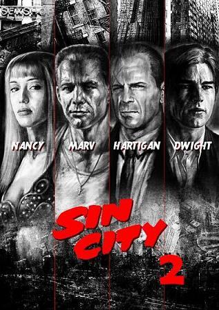 """Affiche de """"Sin City 2"""""""