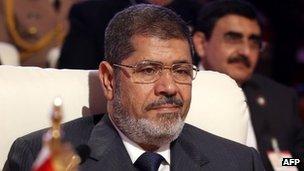 La date du procès de M. Morsi n'a pas été annoncé