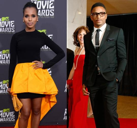 Kerry Washington et Nnamdi Asomugha