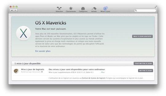 Lors de son événement du 22 octobre, Apple dévoile les derniers détails sur OS X Mavericks