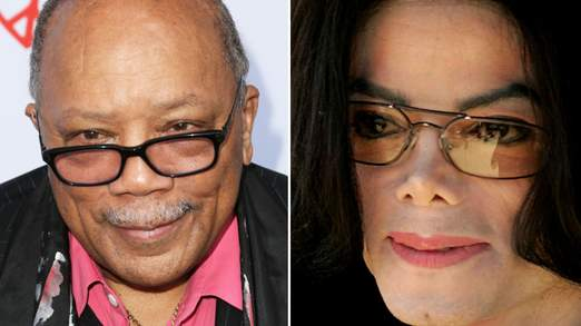 Quincy Jones a produit certains des plus grands hits de Michael Jackson