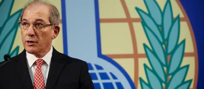 Le directeur général de l'OIAC, Ahmet Uzumcu