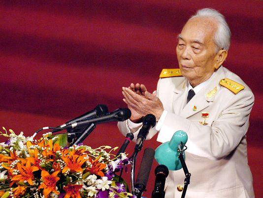 Vo Nguyen Giap, le général vietnamien qui a orchestré les victoires contre la France et les Etats-Unis.