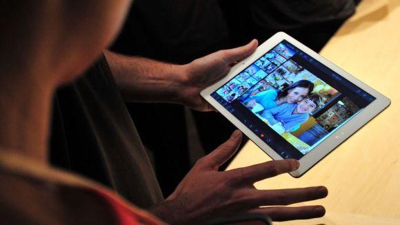 l'iPad d'rain pour les tablettes Android de SamsungApple laisse du ter